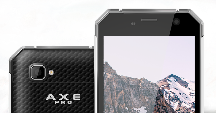 Wytrzymały smartfon Hammer AXE PRO