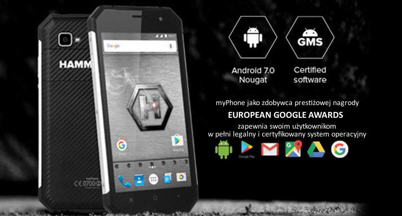 Zapowiedź: Android 7.0 Nougat dla modeli HAMMER