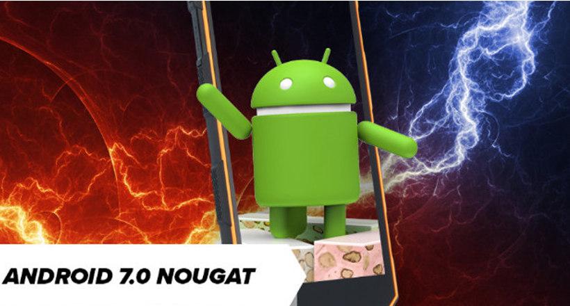 Android 7.0 Nougat dla HAMMERA Energy