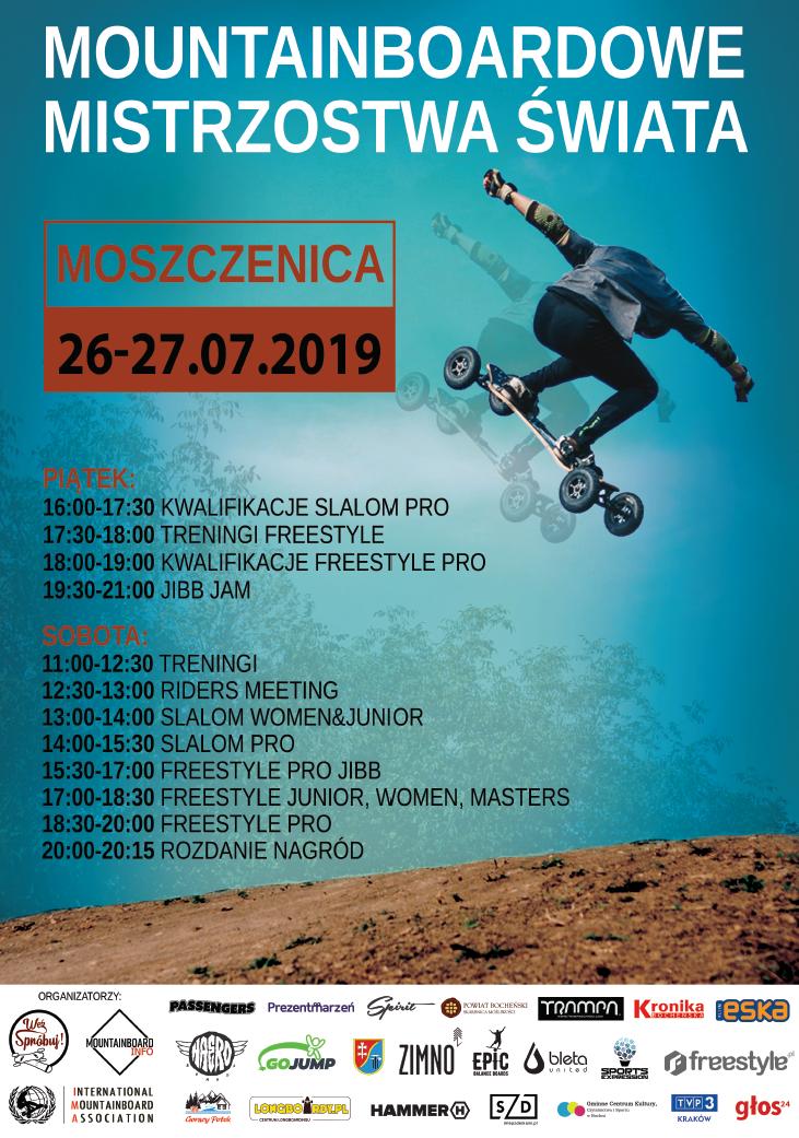 Mountainboardowe Mistrzostwa Świata - program