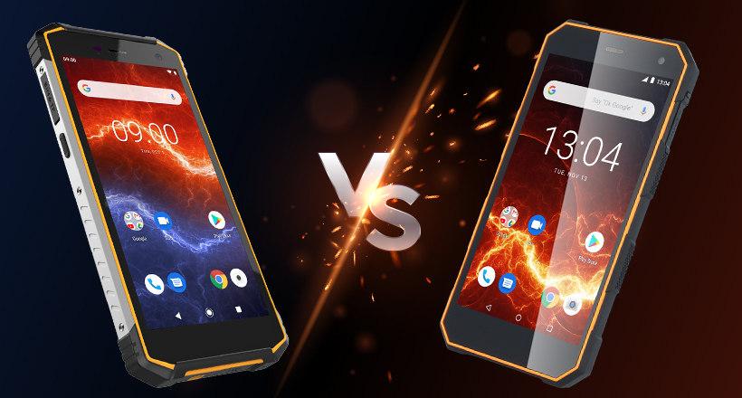HAMMER Energy 2 vs. HAMMER Energy – porównujemy wytrzymałe smartfony popularnej serii