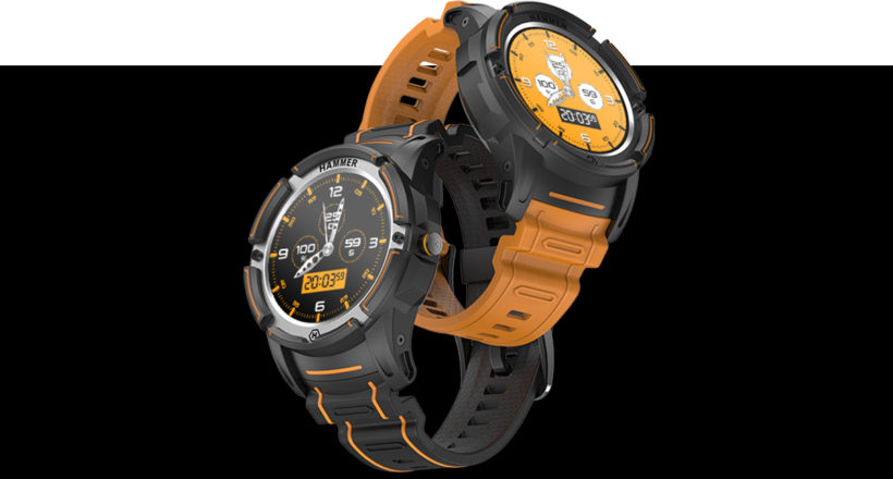 HAMMER Watch – nowy smartwatch dla aktywnych.  Koncepcja, projektowanie, funkcje