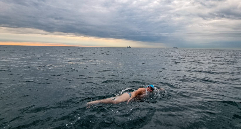 Piotr Biankowski przepłynął Kanał La Manche!